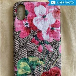 Gucci Floral IPhone X Case
